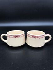 Wallace China Desert Ware Waldorf Tea Coffee Mugs Cups