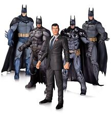 "BATMAN - 7"" Arkhan Batman Action Figure Set (5) by DC Comics #NEW"