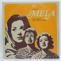 Mela LP Record Naushad Bollywood Hindi soundtrack 1980 Rare Vinyl Indian EX