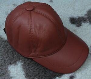 DISCOUNT! Leather cap