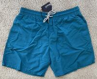 New Authentic Vilebrequin MOOREA Swim Trunks - MEN - XXXL - BLUE - 3XL