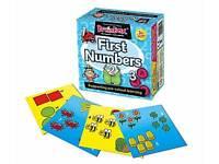 Brainbox First Numbers Pre School Game Memory  Learning Teaching Aid Kids