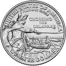 2021 D Washington Crossing the Delaware UNC Quarter Dollar Beautiful! 🗡