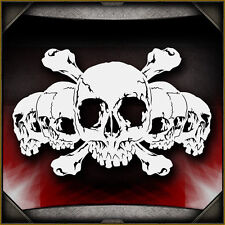 Skull Background 28 -  Airbrush Stencil Template Airsick