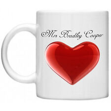 Funny Mug, Funny Gifts Mrs Bradley Cooper Dishwasher  Microwave Safe 11oz Mug