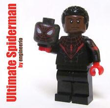 LEGO Custom - Ultimate Spiderman - Marvel Superheroes Miles Morales spider man