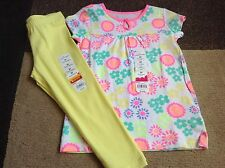 Toddler girls Jumping Beans white floral tunic long leggings 3T(NWT)