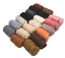 Molten Designs Merino Wool Tops, Pack of 9 - Neutral Tones