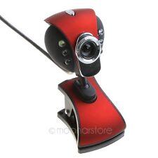For PC Laptop USB 2.0 50.0M pixels HD Camera 6 LED Webcam Web Cam with MIC