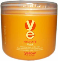 YELLOW HYDRATE MASK FOR DRY HAIR 16.9 OZ. / 500 ML.