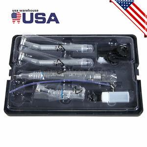 Estilo NSK Dental 4 Agujero Alta y Baja Velocidad / Kit Pieza de Mano Turbina