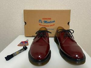 Dr.Martens Men's Shoes 3 Holes 13762 Cherry Red Made in England UK7 US8 #5199A