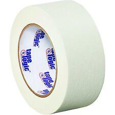 "Tape Logic T937003W Masking Tape, 60 yds Length x 2"" Width, White (Case of 24)"