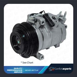 AC A/C Compressor Fits: Ram 1500 / Jeep Grand Cherokee / Dodge Durango See Chart