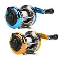 Mini Ice Fishing Reel /w Fishing Line Drum Reel 3.0:1 Right-Handed