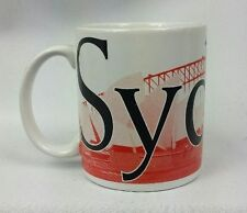 Starbucks 2004 Collectors Series Sydney Australia Coffee Mug Cup