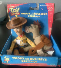 Woody and Bullseye Beanbags Toy Story 2 Applause Disney Pixar