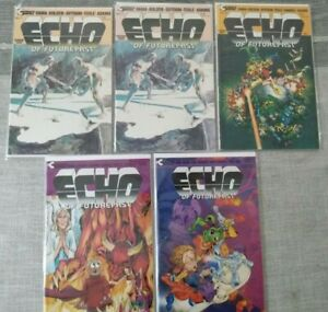 Echo of Futurepast #1 #1 #3 #5 #6 Continuity Publishing Comics 1st Bucky O'Hare