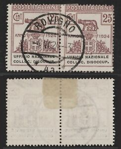 Italy 1924 - Used Stamps Cassa Nazionale D107