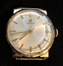 Vintage Omega 14K GO Men's Watch Works Inscribed Second hand no band
