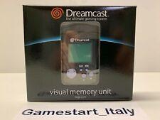 Visual Memory Dreamcast VMU Clean Gray Originale Sega