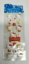 Vintage 2000 Sanrio HELLO KITTY & MIMMY & CATHY Bunny Puffy Stickers NEW UNUSED