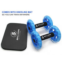 AB Wheel Rollers Double Core Abdominal Wheels Workout for Ab Training Gym Home