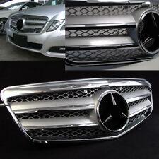 Parrilla C207 Style Cromo Plata para Mercedes W212 Clase E 03/2009