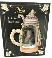 SS Sarna Nini the Warriors Handcrafted Collectible Lidded Mini Beer Stein