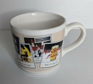Men Behaving Badly mug comedy - Vintage 1993 Staffordshire