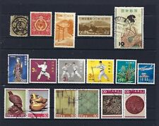 JAPAN, 17 DIFFERENT MINT & USED, CV$22.75, LOT 12-10