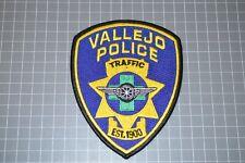 Vallejo California Police Traffic Patch (B17-S)