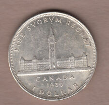 1939 Canadian Silver Dollar ~ Extra-Fine Condition!