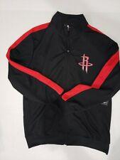 NBA UNK - Houston Rockets Full Zip Warm-Up Jacket Men Size Large Black Red NWT