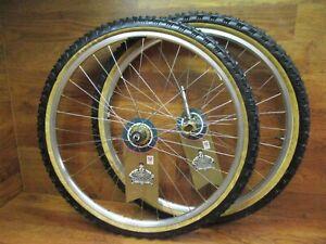 "Vintage NOS SUN CR18 Rim 26/"" 32h Titanium Finish MTB Mountain Bike Made in USA"