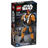 LEGO STAR WARS Poe Dameron Buildable Posable Figure 75115 | Brand New
