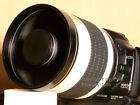 super tele 800mm pour Canon EOS 1100D 1000D 550d 500d 600d 450d 50D 60D 7D 5D