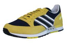 Scarpe da uomo gialli adidas in camoscio