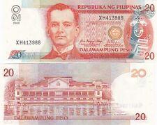 FILIPPINE BANCONOTA 20 PISO  MAI CIRCOLATA