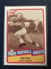 Yale Lary HOF Detroit Lions  1989 Swell Greats #106  NM-MT