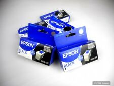 5 x Originali EPSON s020189 Cartuccia inchiostro nero stylus color 740/760/860/1160