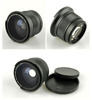 0.35xFisheye Super Wide Angle 58mm Lens For Canon EOS 650D 600D 1100D 1000D 550D
