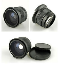 Good 0.35x Fisheye Wide Angle 58mm Lens For Canon EOS 650D 600D 1100D 1000D 550D