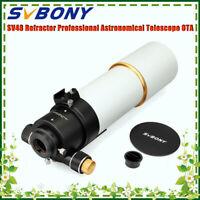"SVBONY SV48 90mm F5.5 2"" Refractor Astronomical Astrophotography Telescopes FMC"