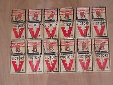 Victor M040 Lot of  (12) Snap Spring Wooden Mouse Trap /Rodent Control NEW SALE