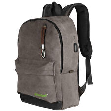 School Backpack Business Laptop Backpack Travel Water Resistant USB Port