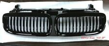 MIT GLOSSY BLACK FRONT KIDNEY GRILLE BMW E65 7 SERIES 2002-2004