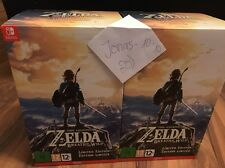 The Legend of Zelda Breath of the Wild Limited Edition Nintendo Switch NEU & OVP
