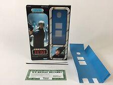 "Custom Star Wars Rotj 12"" de Luke Skywalker Jedi Knight Caja Versión Moderna + Insertos"