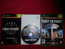 FIRST TO FIGHT UNITED STATES MARINES MICROSOFT XBOX 16+ PAL